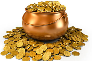The pot of wealth